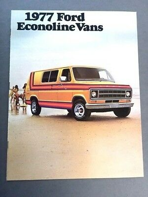 1986 Ford F-Series Pickup Truck Ranger Bronco Econoline Paint Chip Brochure