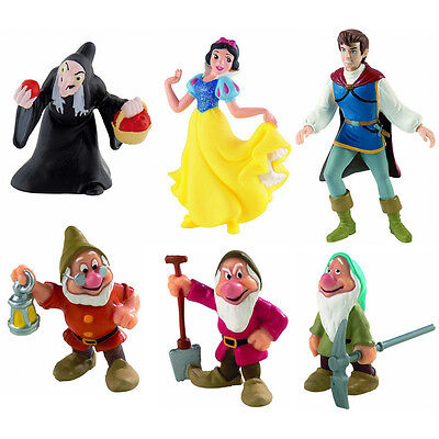 Bullyland Snow White & the Seven Dwarfs Figures
