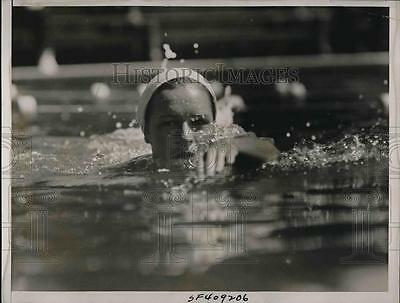 1937 Press Photo Toni Redfern, lost her National A. A. Y. title in the 100-meter