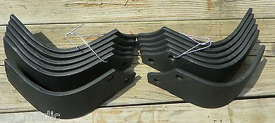 Terranova Tiller Tines fits Models TB-TF-TN-TP, 6 each Left and Right Hand Tines