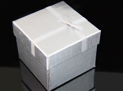Square Silver Gift Box For Bracelet and Watch,Necklace