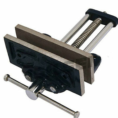 Neilsen Carpenters Bench Vice 125mm Opening Clamp Clamping Wood Timber Hold 2a