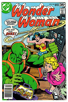 Wonder Woman #241 9.2 Off-White To White Pages Bronze Age