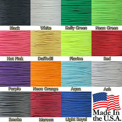 New 550 Paracord Polyester Cord Mil Spec Type III 7 Strand - 10' 20' 50' 100' FT