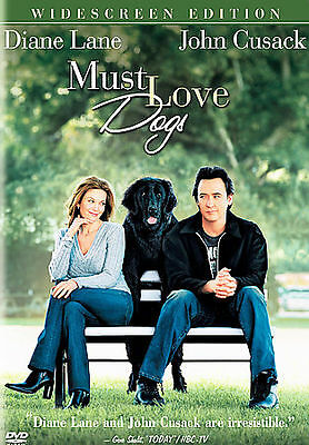 2005, DVD, Must Love Dogs, Widescreen, Brand New, Diane Lane, John Cusack