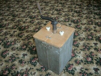 antique very unique butter churn(never seen one like this)