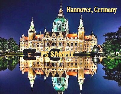 Germany berlin travel souvenir fridge magnet for Souvenir hannover