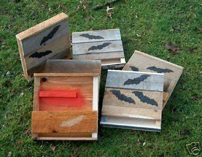 Bat House.Bat Box.4=1 CHAMBER.OHIO HARD PINE.Holley. NEXT WORK DAY SHIPPING FAST