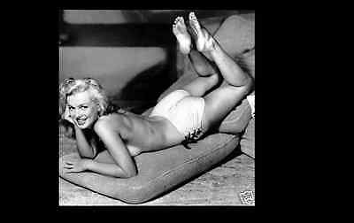 MARILYN MONROE 7x7 PICTURE RARE VERY SEXY TOPLESS PHOTO