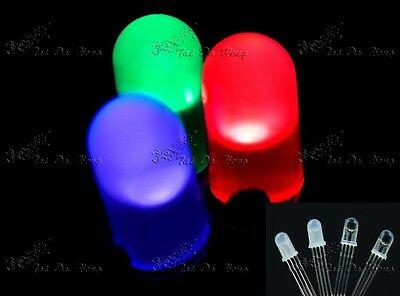 5MM 4PIN Red Green Blue COMMON ANODE/CATHODE RGB LED LAMPS EMITTING LIGHTS DIODE