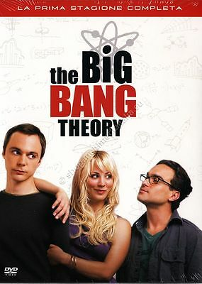 The Big Bang Theory Stagione 1 - Cofanetto 3 Dvd Nuovo!
