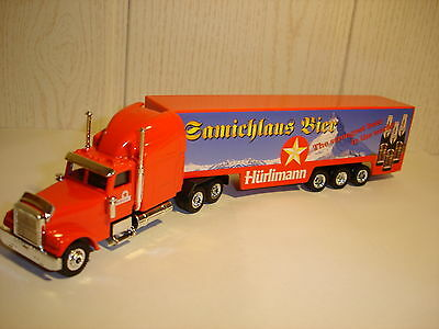 Truck Of The World Hürlimann Samichlaus Bier Brewery Beer  1/87 H0