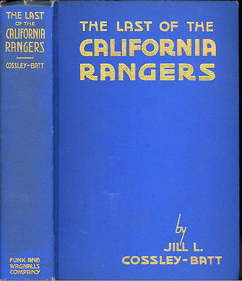 CALIFORNIA RANGERS, Indians, Stagecoach Robbers, California Gold Rush, Mining