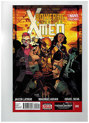 WOLVERINE & THE X-MEN #2  1st Printing - Marvel NOW!        / 2014 Marvel Comics