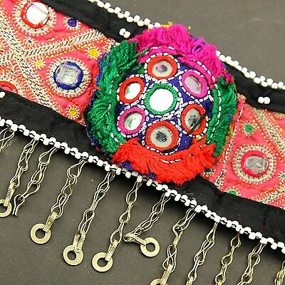 Belly Dance Nomadic Afghan TRIBE Coin BELT Kuchi 864m6