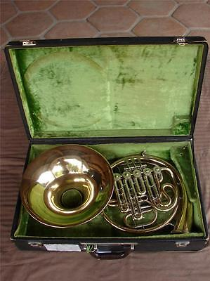 MEISTER HANS HOYER F/Bb/(A+) COMPENSATING DOUBLE YELLOW BRASS FRENCH HORN
