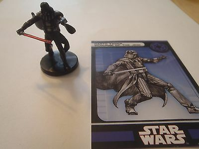 Star Wars Miniatures Darth Vader Scourge Of The Jedi Rare #33 Kotor