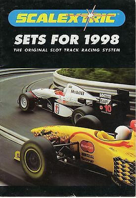 "Scalextric ""Sets For1998"" Booklet"