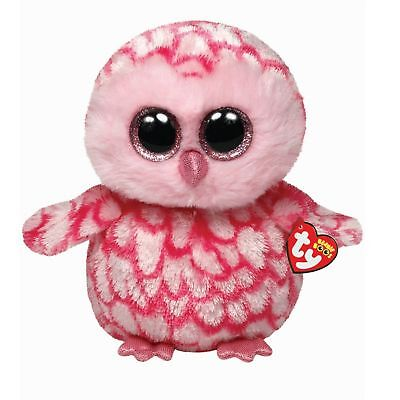 Ty Beanie Babies 36994 Boos Pinky the Pink Owl Boo Buddy