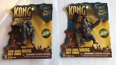 Pair of King Kong  Life-Like Stretchable  Key Chains