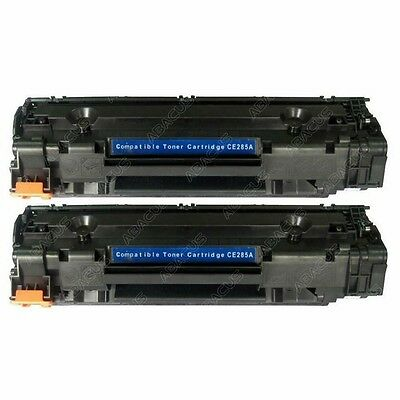 2pk Toner Compatible with HP 85A (CE285A) for LaserJet Pro M1217nfw Printer