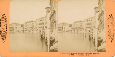 STEREO Italie, Venise Le Grand Canal  STEREO Italie, Venise Le Grand Canal  Ti