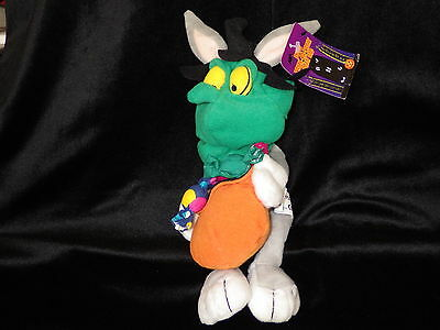 Bugs Bunny Witch bean bag plush toy Warner Store '99 Looney Tunes new with tags