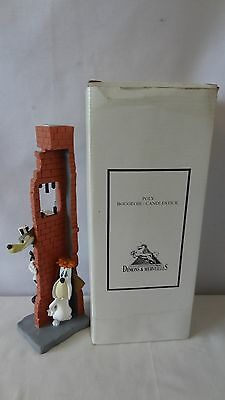 Demons and Merveilles 1996 Turner Ent. Droopy & The Wolf Candle Holder MIB #G379