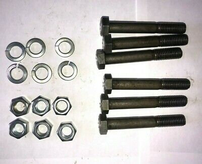 Grade 2 Shear Rotary Cutter Shear Bolts Bolts Set of 6 and Free Shipping!!!