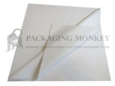 100 Sheets Of PURE WHITE Acid Free Tissue Paper 450x700mm