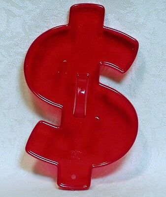 Vintage Design HRM Red Cookie Cutter - Dollar Sign Money New Job Father's Day