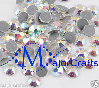 700pcs Blue Crystal AB 4mm ss16 Glass Flat Back DMC Hotfix Iron-on Rhinestones