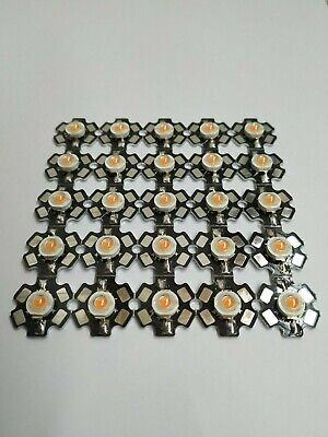50x RGB SMD 5050 LED PLCC-6  3-Chip 6-Pin 60mA Tri Color