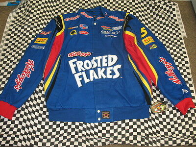 Kyle Busch Frosted Flakes Adult NASCAR Jacket by JH Design - Size 3XL