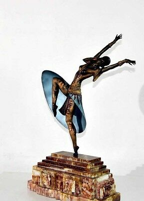 Art Deco Bronze Almeria Statue By Chiparus 1920s French Figurine