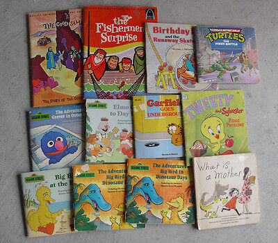 Lot of 12 Vintage 1950s-70s Childrens Books