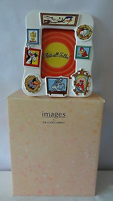 Warner Brothers 1989 Foghorn Leghorn And Yosemite Sam Picture Frame MIB #G387