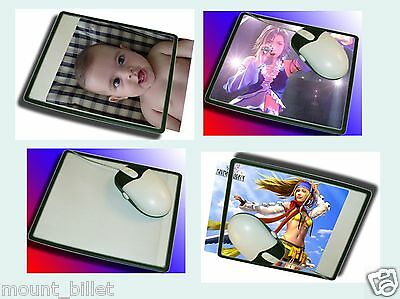 Brand New Custom Photo Insert Mousepad for Personal Pic