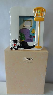 Warner Brothers 1989 Sylvester and Tweety Bird Picture Frame MIB G388.
