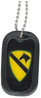 NEW Dog Tag with key chain 1st Cavalry Division. 2652.