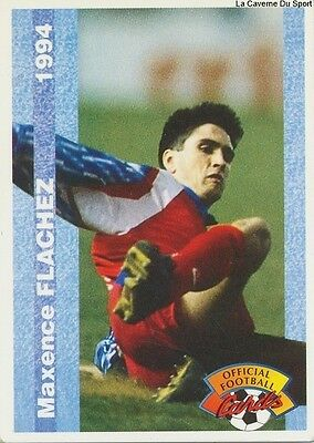 N°043 GREGORY WIMBEE # FRANCE OLYMPIQUE CHARLEVILLE CARD CARTE PANINI FOOT 1994