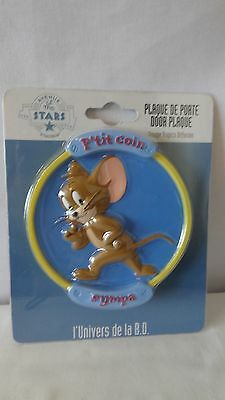 Warner Brothers Tom And Jerry 2001 Avenue Of Stars Wall Hanger Plaque MIB #G402