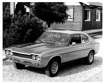 1973 Ford Capri 2600RS RS Factory Photo uc5105