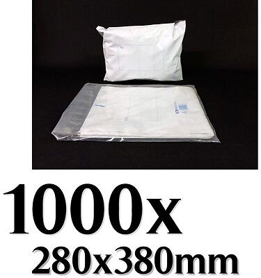 1000 #3 280x380mm Courier Bag Poly Mailer Bag Satchel Polycell Brand