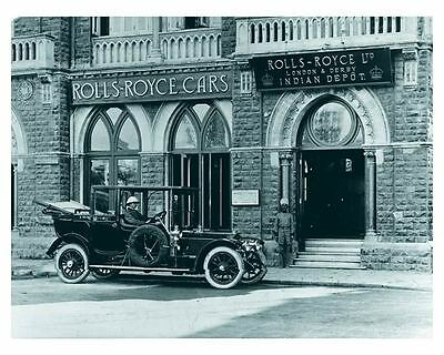 1907 thru 1925 Rolls Royce 40/50HP Silver Ghost Automobile Photo Poster zch5111