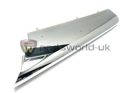 Alfa Romeo 159 Nearside / Left front bumper chrome effect trim Genuine 156054313