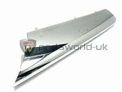 Alfa Romeo 159 Offside / Right front bumper chrome effect trim 156054314 Genuine