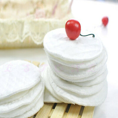Ecological Cotton Breast Nursing Pads Washable Reusable Breastfeeding Absorbent