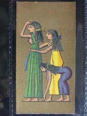 No.15 Egyptian Garments ANCIENT EGYPT - Cavanders Ltd Cigarette Card 1928