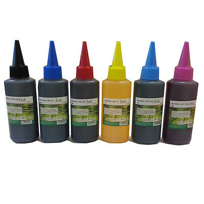 TY 600ml Ink Refill for Epson R265 R285 R360 RX560 RX585 RX685 P50 PX650 CISS